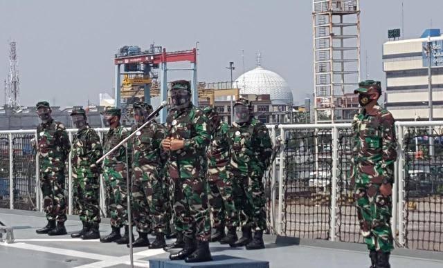 Personel Kogabwilhan I Diberangkatkan ke Tanjung Pinang, Provinsi Kepulauan Riau