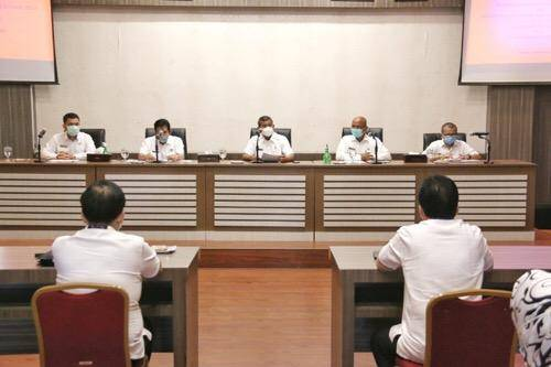 BPK Perwakilan Provinsi Sumut Sambangi Pemko Medan, Terkait Pemeriksaan Pendahuluan Atas Penanganan Pandemi Covid-19
