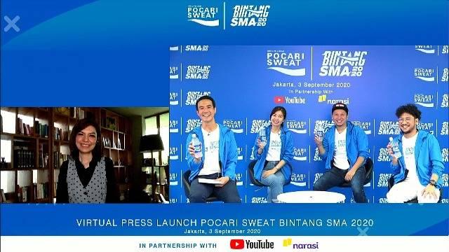 BINTANG SMA 2020 Sudah Dibuka, Pocari Sweat Gelar Ajang Pencarian Bakat Online untuk Siswa SMA/sederajat, Sweat for Dream