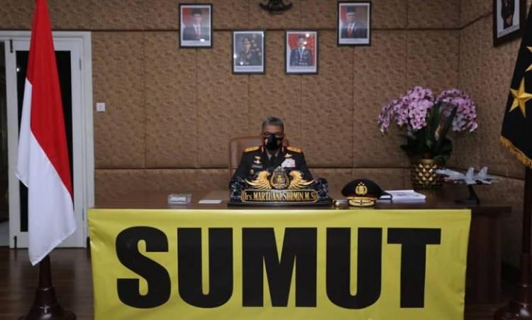 Kapoldasu Martuani Sormin Ikuti Daring Upacara Pelantikan Tupdik SIP Angkatan 49, Ada 72 Perwira dari Sumut