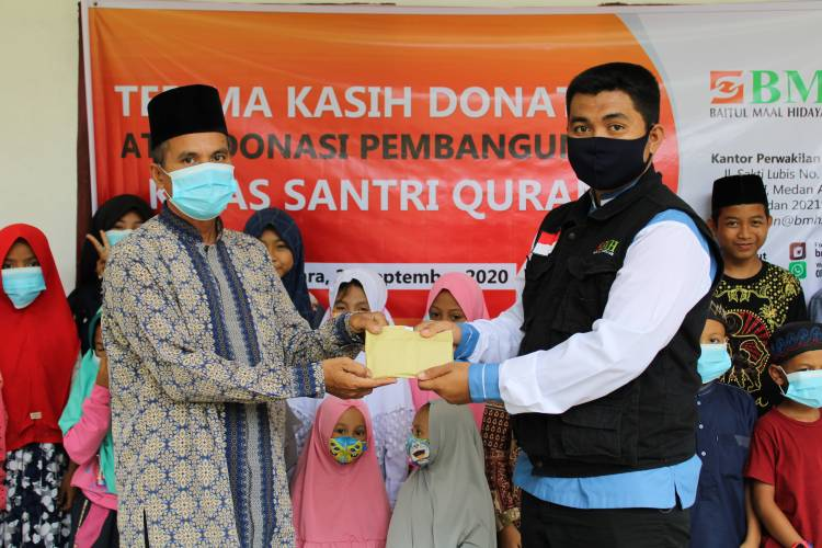 BMH Dukung Pembangunan Kelas Santri Qur'an