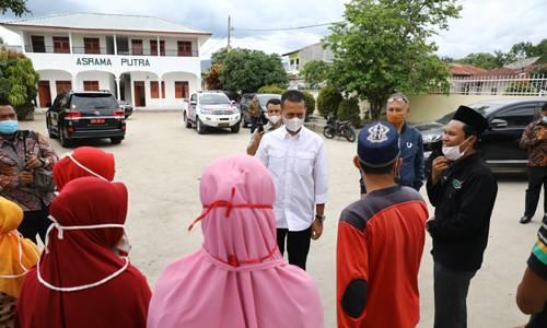 Silaturahmi ke Panti Asuhan Mohd Yasin Tambunan, Wagub Beri Motivasi Kepada Anak Yatim Piatu