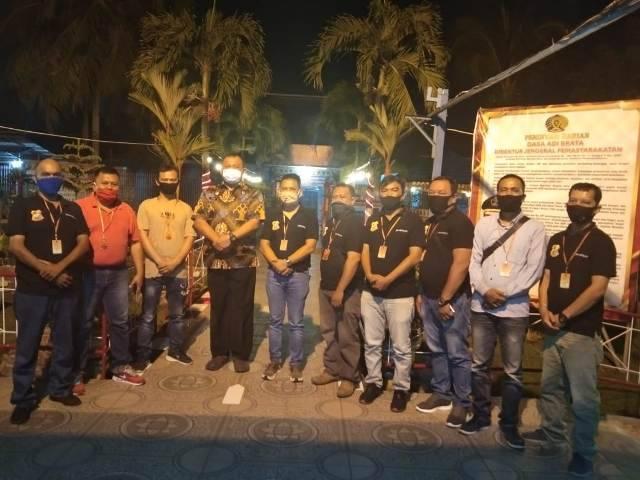 Pewarta Polrestabes Medan Silaturahmi dengan Kepala Rutan Kelas IA Tanjung Gusta