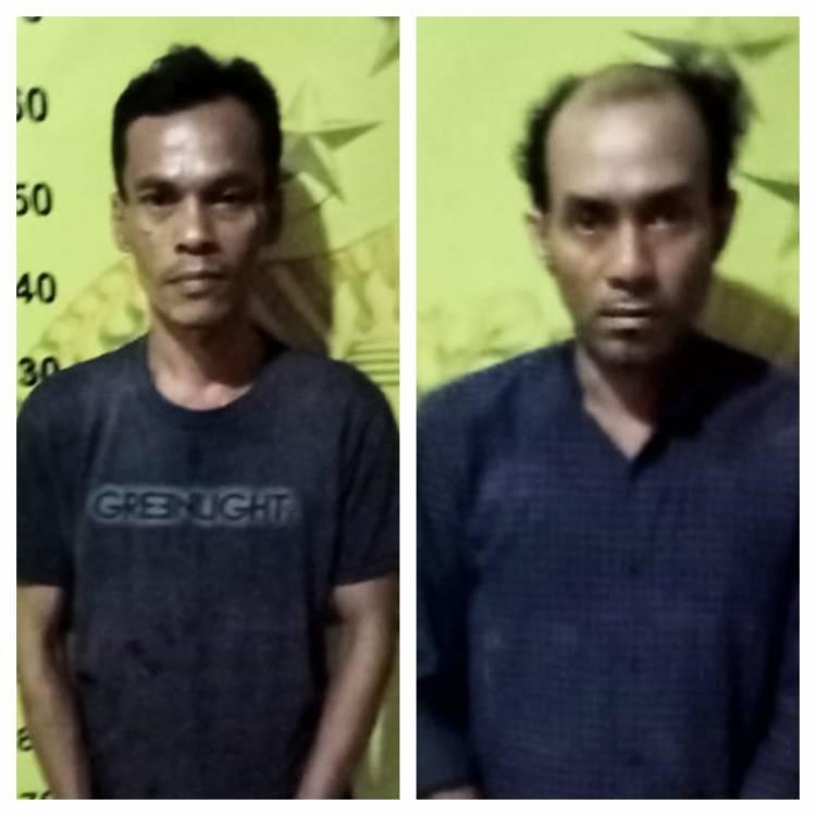 Polsek Medan Timur Sergap 2 Pencuri Komplotan Bongkar Rumah Mewah di Jalan Timur
