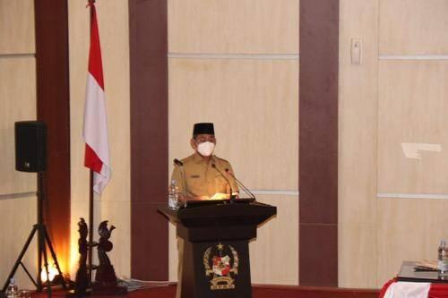 Sekda Wiriya Alrahman Hadiri Rapat Paripurna DPRD Medan, Agenda Penyampaian Reses Ketiga