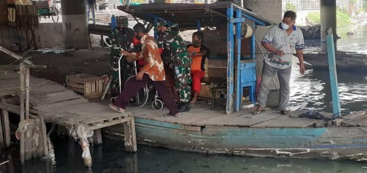 Lansia di Kampung 1001 Malam Jadi Prioritas Kesehatan
