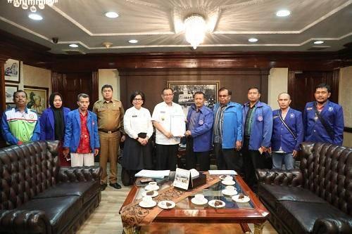 Terima Audiensi DPC K-SPSI, Plt Walikota Medan Ingatkan Pentingnya  Iklim Perekonomian