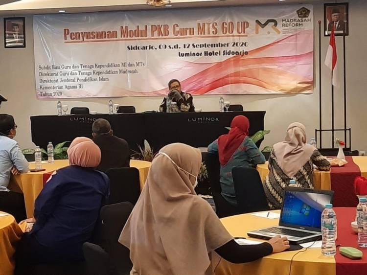 Kementerian Agama Targetkan Tahun 2021 Madrasah Gunakan Modul Baru PKB Guru