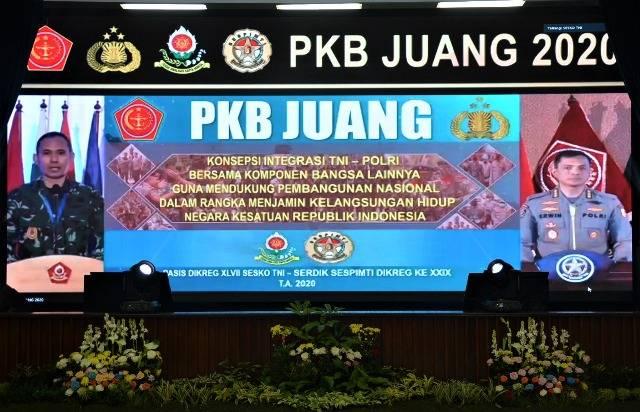 Lima Hari Diskusi PKB Juang, Gagasan Integrasi TNI-Polri Kawal Pembangunan Nasional Telah Siap