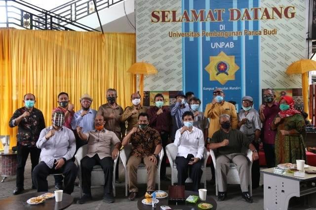 Dewan Riset Daerah Sumut Rapat Rutin di Unpab, Bahas Penanganan Covid-19