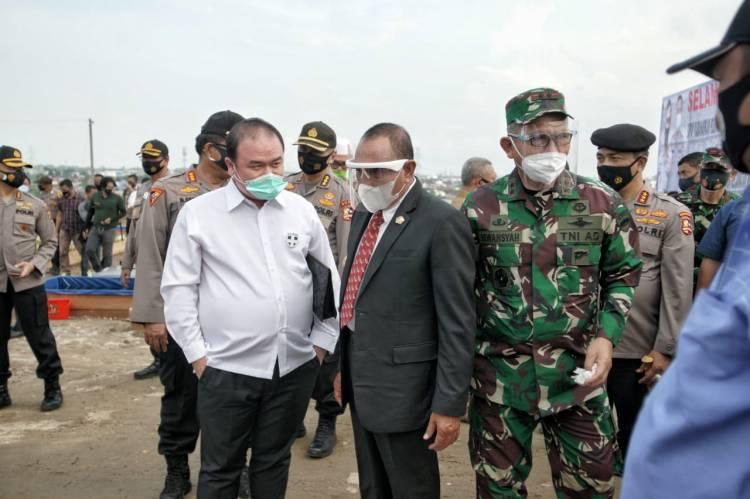 Ketahanan Pangan Kamtibmas, Diapresiasi Pjs Walikota Medan Dikunjungi Kabarharkam Polri