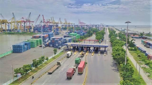 Pelindo 1 Tata Akses Masuk ke Terminal Peti Kemas Belawan