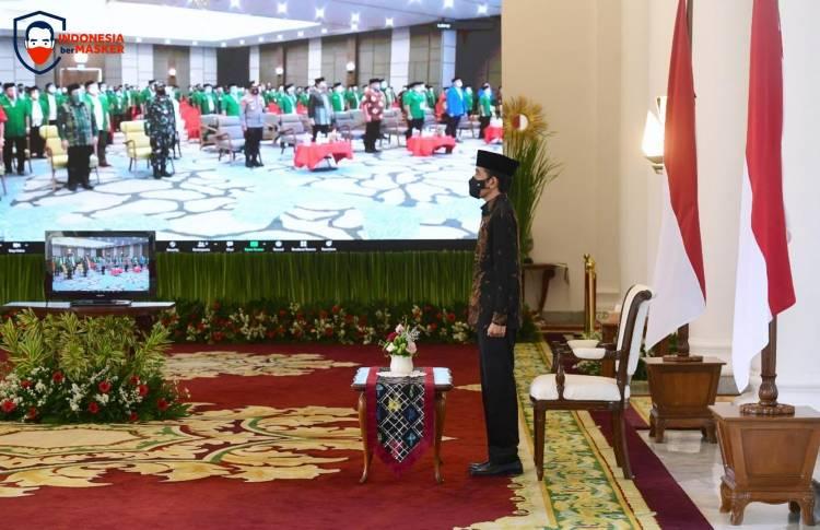 Presiden Ajak Anggota GP Ansor Cintai, Beli, dan Promosi Produk Dalam Negeri