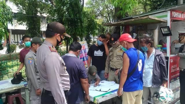Polsek Medan Timur Giat Operasi Yustisia, Masyarakat Mulai Disiplin Patuhi Protokol Kesehatan