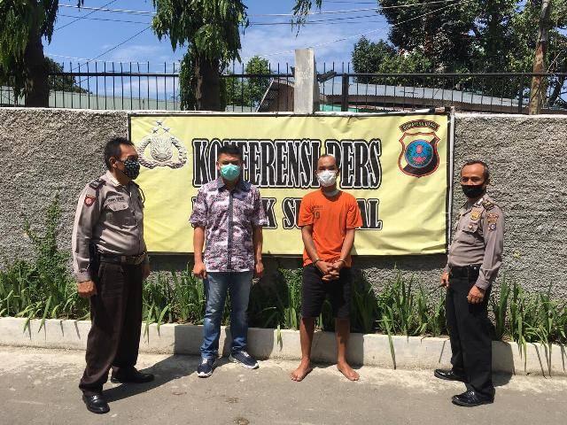 Polsek Sunggal Tangkap Komplotan Curanmor di Jalan Setia Budi, Bawa Kabur CBR 150 dari Jalan Jamin Ginting, di Tengah Jalan Motor Mogok