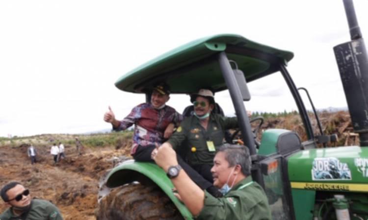 Menteri Pertanian Tinjau Food Estate Humbahas, Pangan Terintegrasi Bakal Kelola Lahan 30.000 Hektare