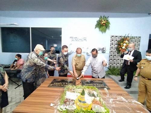 Penunjangan Sarana Perkantoran di Medan, Gedung Grha O-Three Diresmikan