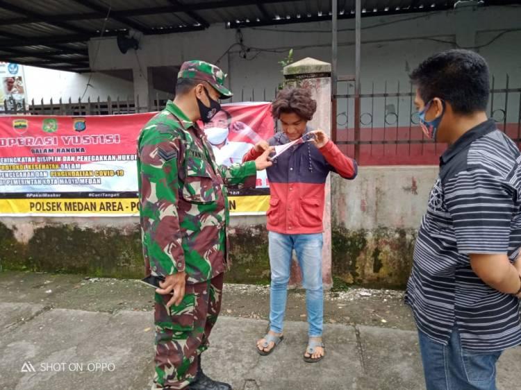 Operasi Yustisi, 19 Orang Tidak Pakai Masker Ditindak