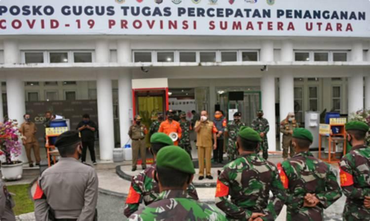 Gubernur Sumut Instruksikan Razia Tempat Hiburan, Perketat Protokol Kesehatan