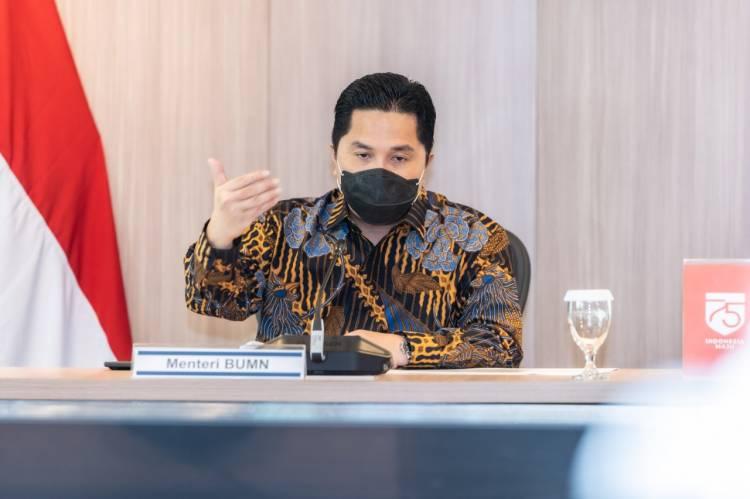 Menteri BUMN Erick Thohir: Tenaga Kesehatan Prioritas Pertama Dapatkan Vaksin Covid-19