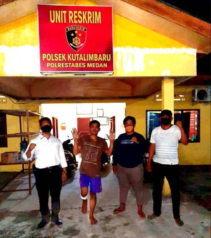Polsek Kutalimbaru Tembak Inspektur, Komplotan Curanmor di Desa Sawit Rejo, Sebelumnya Pernah Curi Soundsystem Mesjid