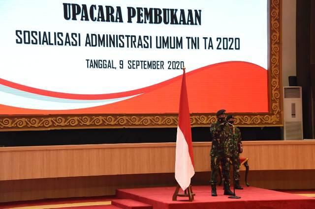 Aspers Panglima TNI Tegaskan Administrasi Umum TNI Harus Seragam