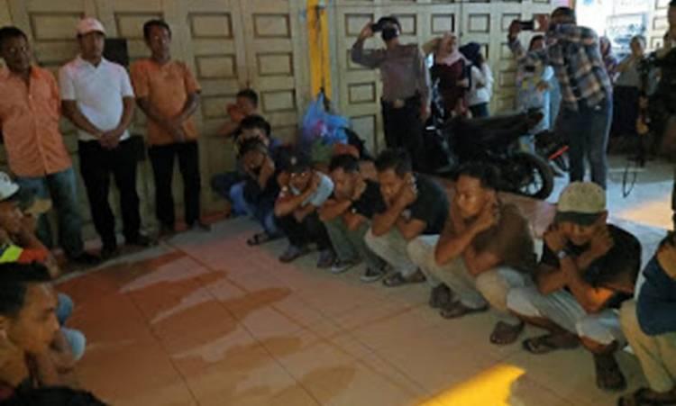 Polres Pelabuhan Belawan Operasi Yustisi Bersama Polsek Jajaran, Tak Pakai Masker Bisa Didenda
