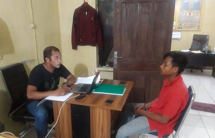 Modus Kencan dan Bobok di Pondok, Pria Ini Larikan Motor Pacarnya, Ditangkap Polisi Saat Nongkrong di Warkop