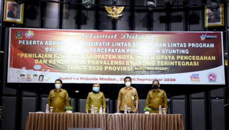 Sekdaprov Sumut Sabrina Harapkan Konvergensi Percepatan Penurunan Stunting di Kabupaten/Kota