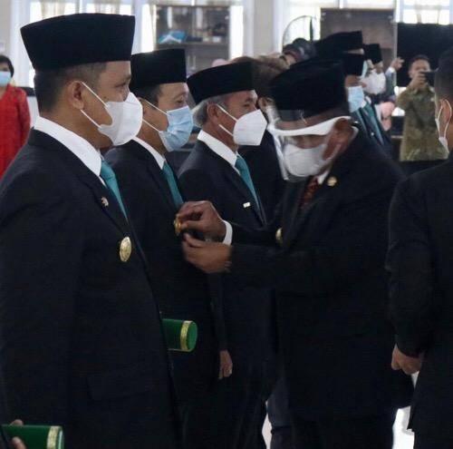Sekaitan Pilkada 2020, Gubernur Sumut Lantik Pjs Kepala Daerah di  11 Kabupaten/Kota