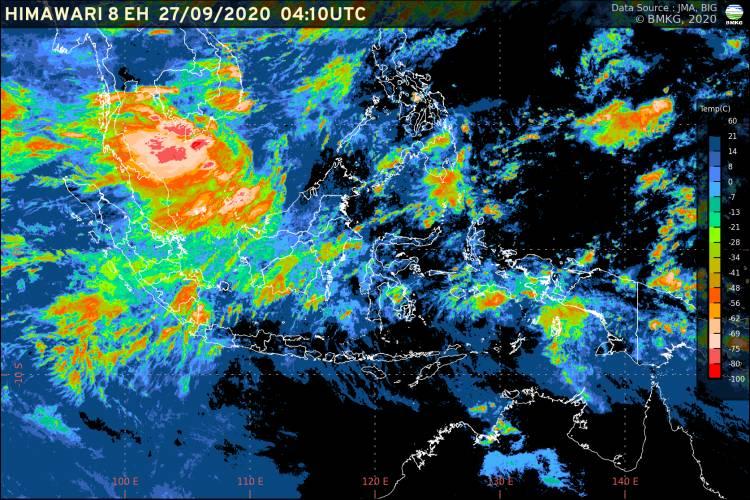 Prediksi BMKG, Hujan Deras Berpotensi di Sumut Beberapa Hari ke Depan