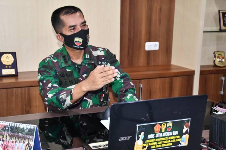 Kapendam I/BB: Demi Kesejahteraan Rakyat, Satgas TMMD Ke-109 Harus Ikhlas Bekerja