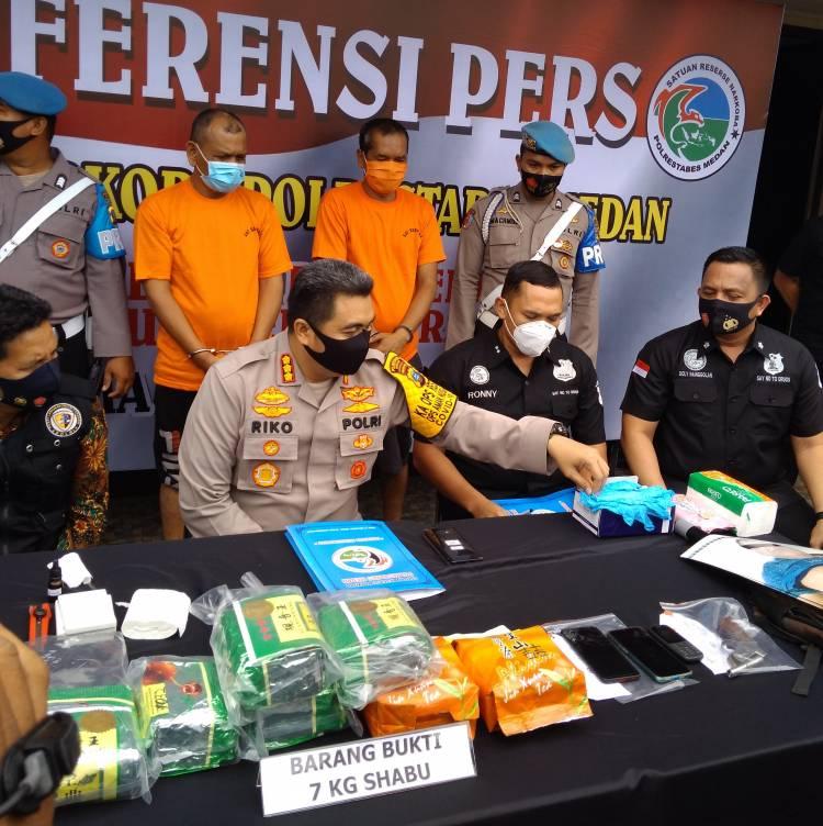 Sita 7 Kilo Sabu, Polrestabes Medan Tembak Mati Bandar Narkoba Internasional di Glugur Rimbun Diski