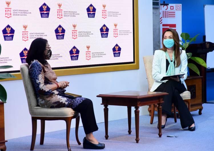 Menteri PPPA: IRT dan Organisasi Perempuan Ujung Tombak Tekan Penularan Dalam Klaster Keluarga