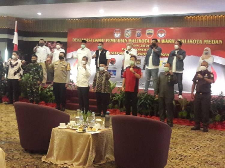 Polrestabes Medan Tegaskan Kampanye Harus Ikuti Protokol Kesehatan