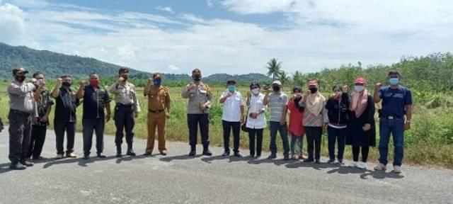 Sukseskan Kampung Paten Inspirasi, Wabup dan Kapolres Tapteng Tinjau Desa Sitio-Tio Hilir Kecamatan Pandan
