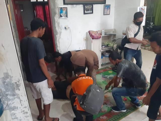 Wanita Ditemukan Tewas Gantung Diri di Rumahnya Jalan Bunga Rampai, Medan Tuntungan