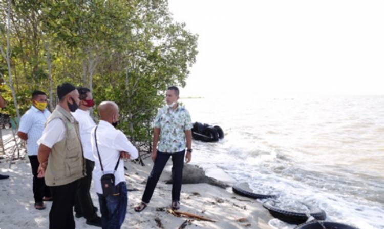 Wakil Gubernur Sumut Tinjau Kampung Nipah di Sergai, Masyarakat Diajak Lestarikan Tanaman Mangrove
