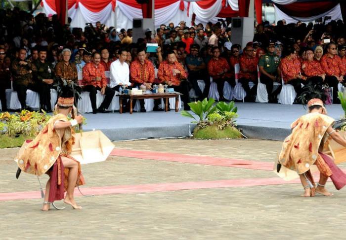 Buka Sail Karimata 2016, Presiden Jokowi: Jadikan Laut Sebagai Tempat Menaruh Harapan