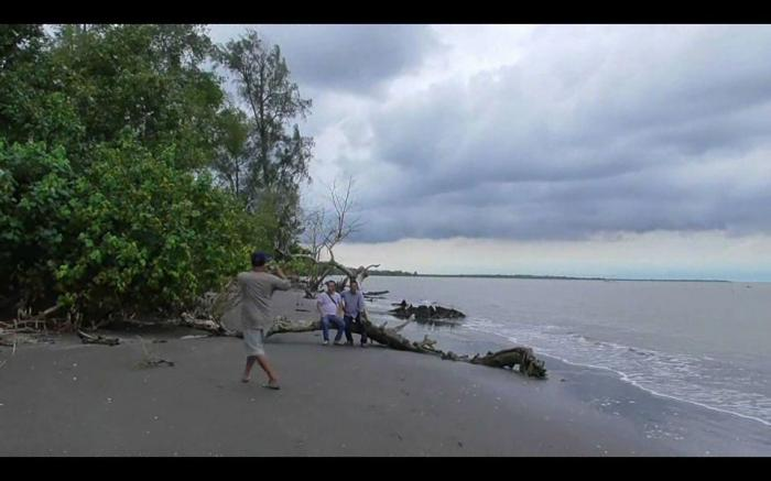 Pantai Kuwala Serapuh, Objek Wisata Terpendam Simpan Pesona Alam Yang Masih Alami