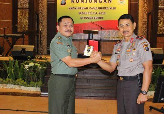 Polda Sumut Terima Kunjungan KKDN/Hanwil dari Sesko TNI