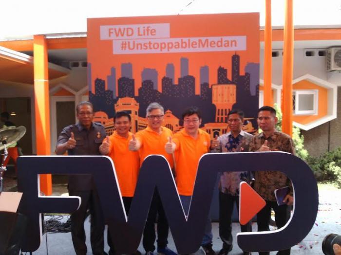 FWD Life Indonesia Resmikan Kantor Pemasarannya di Medan