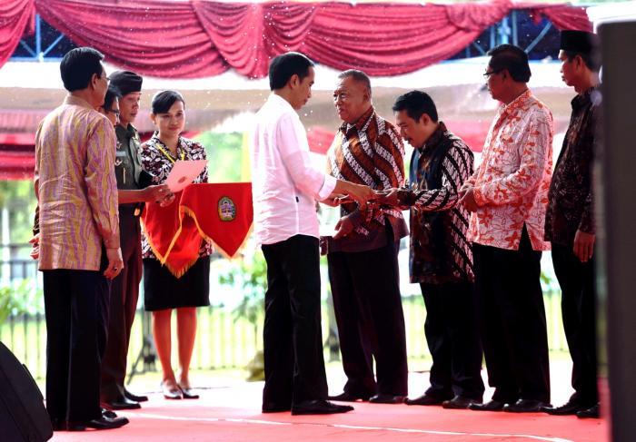 Presiden Jokowi Ingatkan Pejabat BPN Jangan Coba-Coba Main Pungli