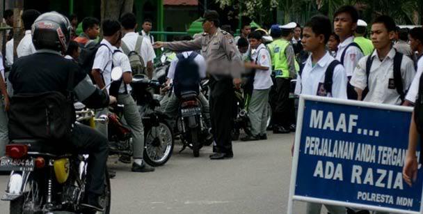 Mulai 1 November Besok, Satlantas Polrestabes Akan Gelar Razia di Medan