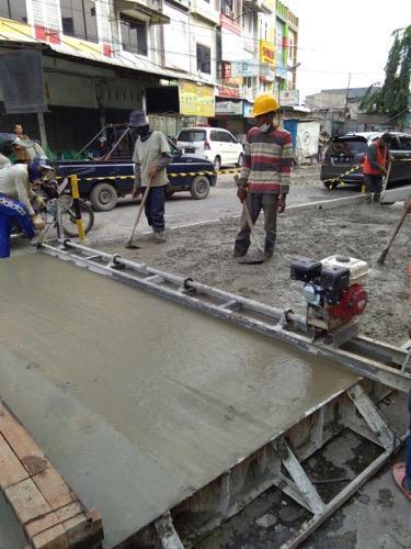 Dijuluki Kota Sejuta Lubang, Pemko Medan Terus Bekerja Benahi Jalan