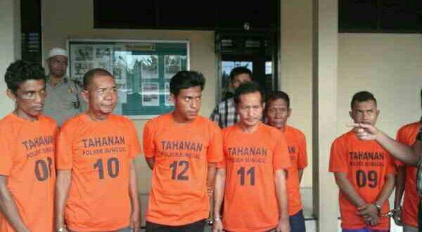 Ini Tujuh Pria yang Menganiaya Brigadir Efendi Hingga Kritis