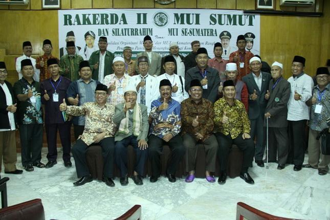 Sukses Gelar Silaturahmi MUI se-Sumatera, Sumut Layak Jadi Tuan Rumah Rekernas MUI