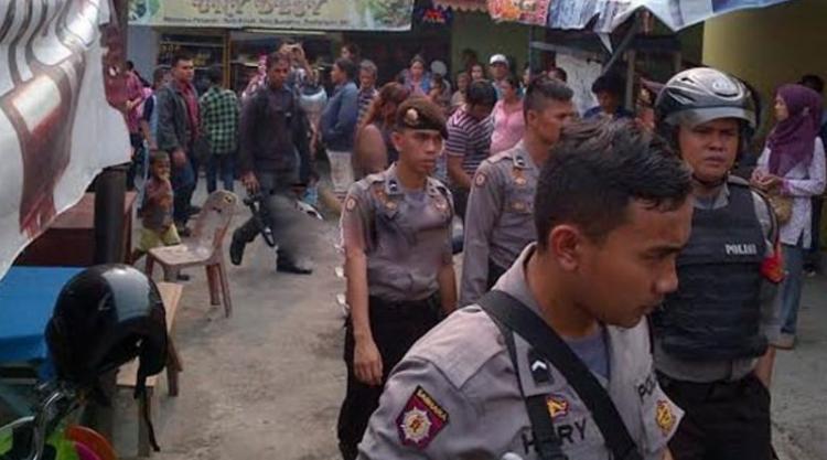 Grebek Kampung Narkoba di Sunggal, 2 Pemuda Diamankan