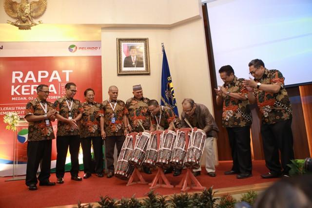 Akselerasi Transformasi Perusahaan, PT Pelindo 1 Gelar Raker RKAP 2018