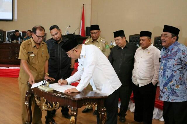 PAPBD Kota Medan 2017 Disahkan, Belanja Kota Bertambah Rp 60 Miliar Lebih